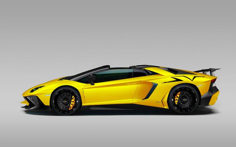 My Car Collection » Lamborghini Aventador SV Roadster